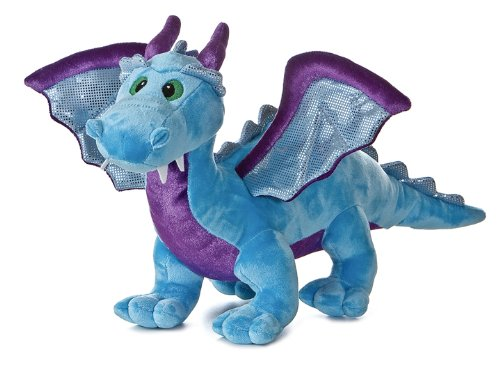 Cute Plush Blue Dragon with Sound