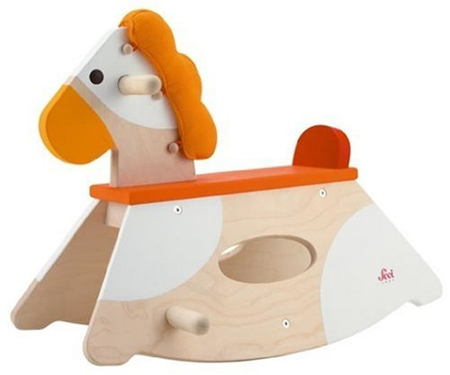Cute Wood Rocking Horse Toy