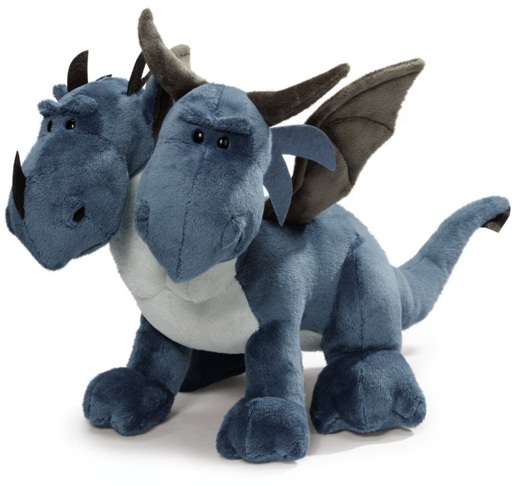 Amazing Double Head Stuffed Dragon