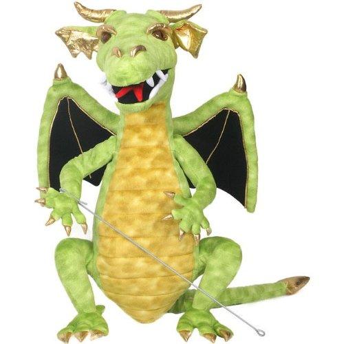 Cool Green Dragon Puppet