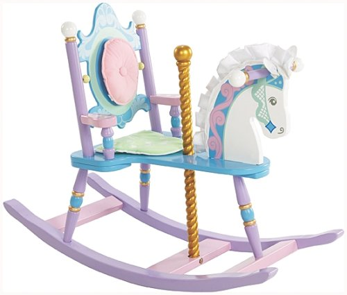 Cute Carousel Rocking Horse for Girls