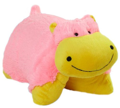 My Pillow Pet NEON HIPPO Large 18 inches