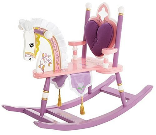 Princess Rocking Horse for Girls