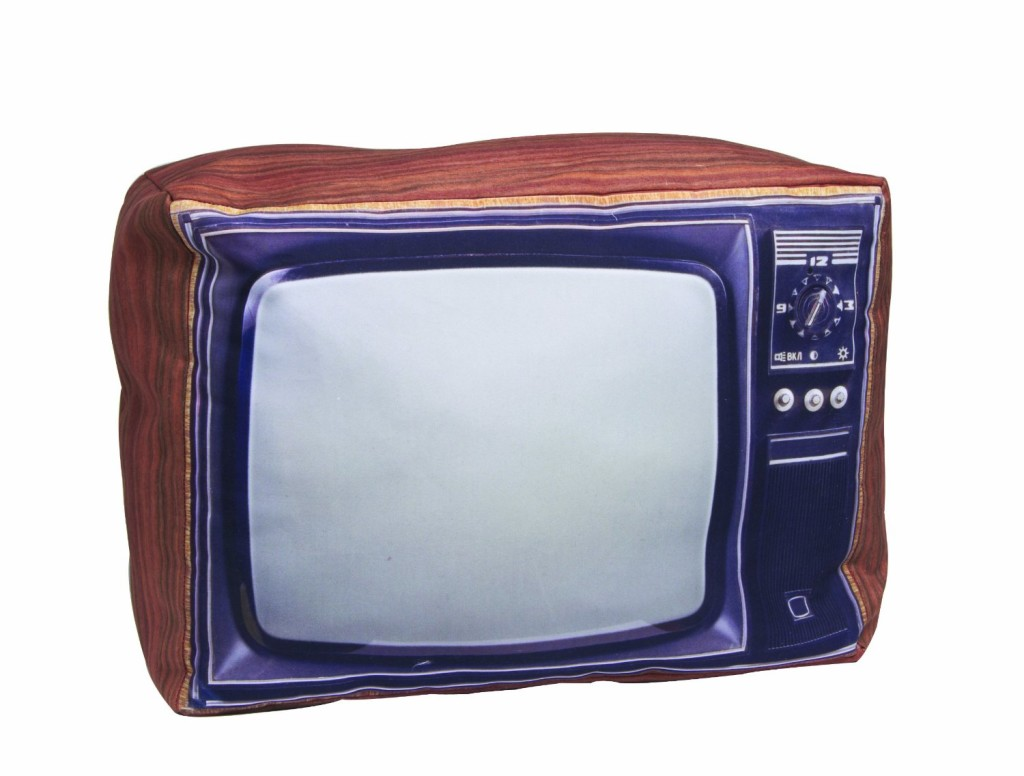 Cool Retro TV Pillow