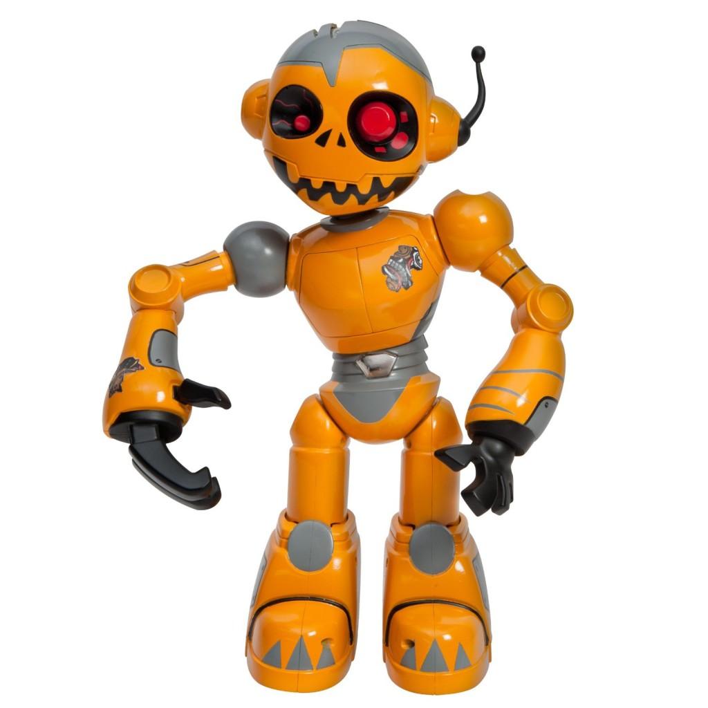 orange robot zombie