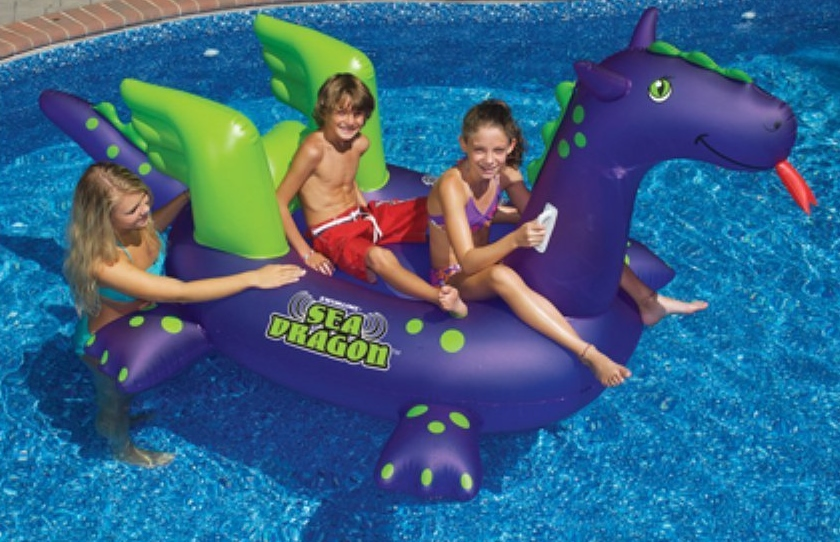 Giant Sea Dragon Inflatable Pool Toy