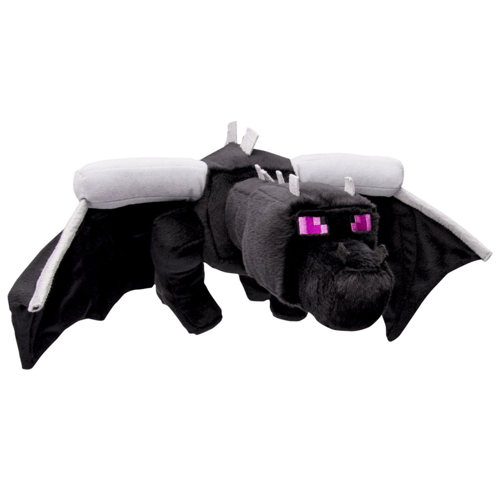 Minecraft Deluxe Ender Black Dragon Plush