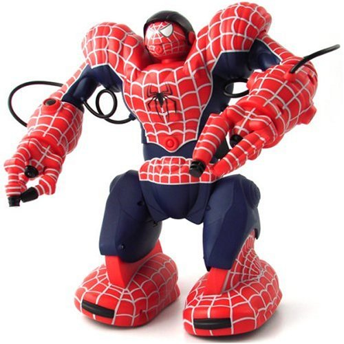 Incredible WowWee Spidersapien Spiderman Robosapien Toy Robot