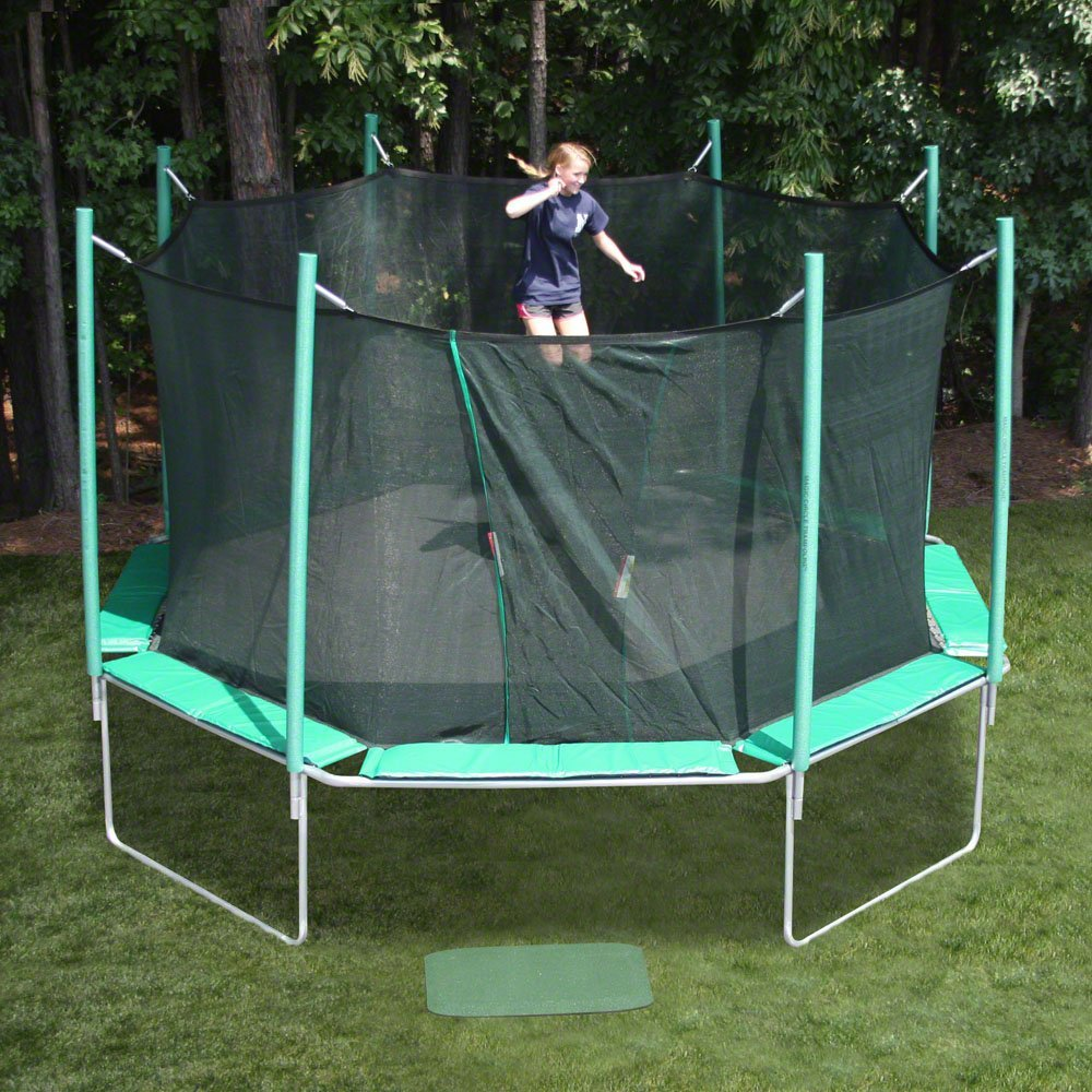 large outdoor trampolines for backyard