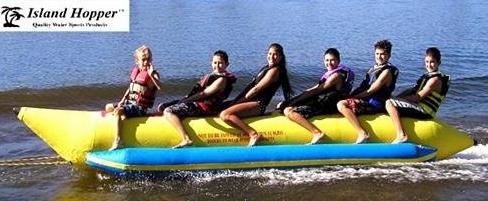 Fun Commercial Banana Boat - 6 Passengers