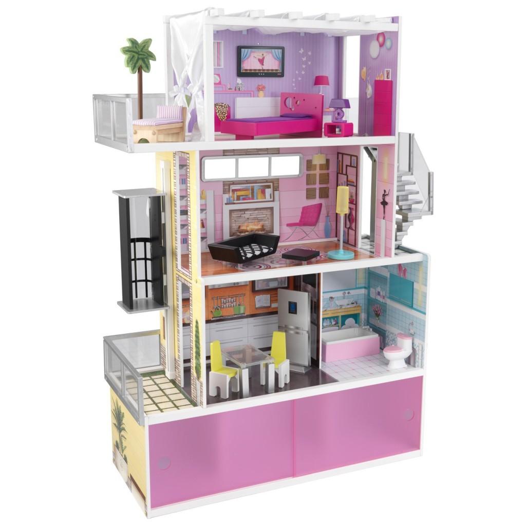 KidKraft Beachfront Mansion with Furniture