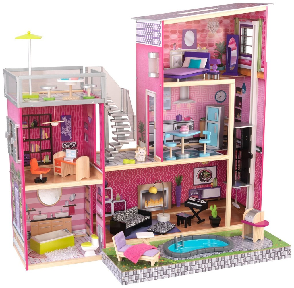 Top 10 fabulous best dollhouses for girls - Maison de poupee hello kitty ...