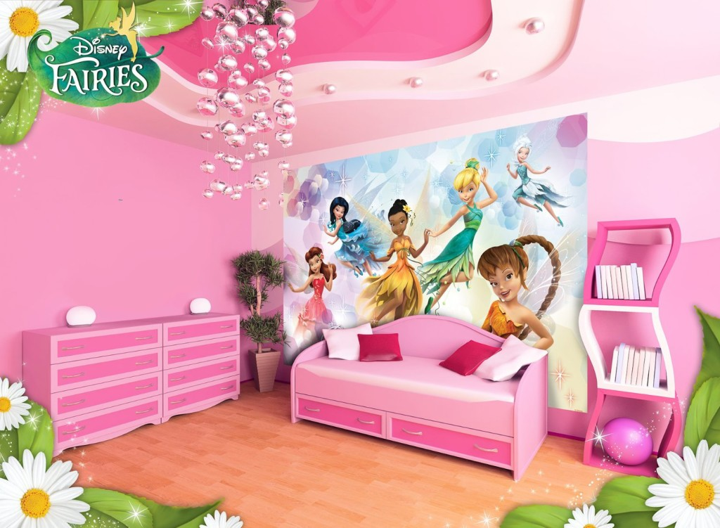 Disney Fairies Beauty Wallpaper Mural