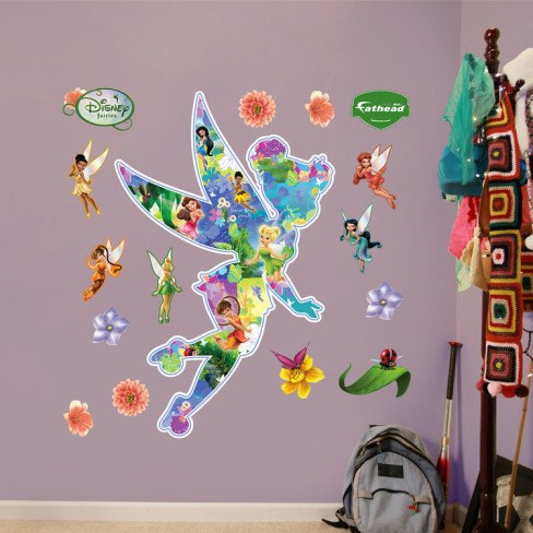 Disney Fairies Tinkerbell Montage Wall Decal Part 76
