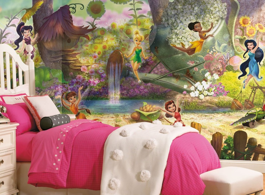 best disney fairies wall murals for sale