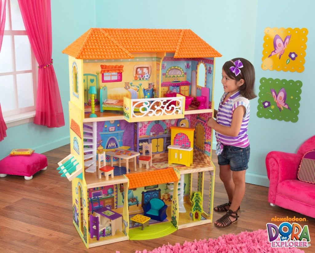 Cute Dora the Explorer Dollhouse with Furniture
