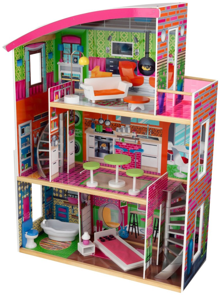 KidKraft Designer Stylish Dollhouse with Furniture