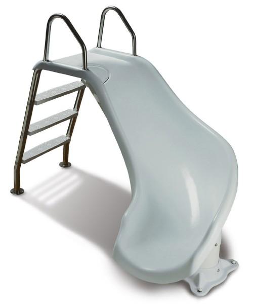 small pool slide