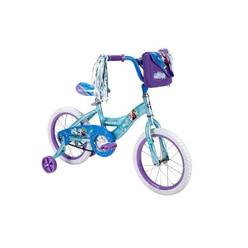 Girls 16 Inch Huffy Disney Frozen Bike