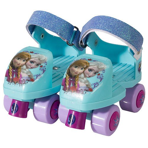 Cute Disney Frozen Glitter Roller Skates for Girls