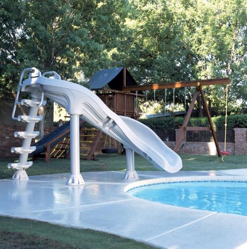FunDouble Turn Slide for Pools