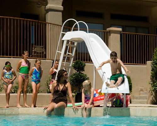 fun pool slides for kids