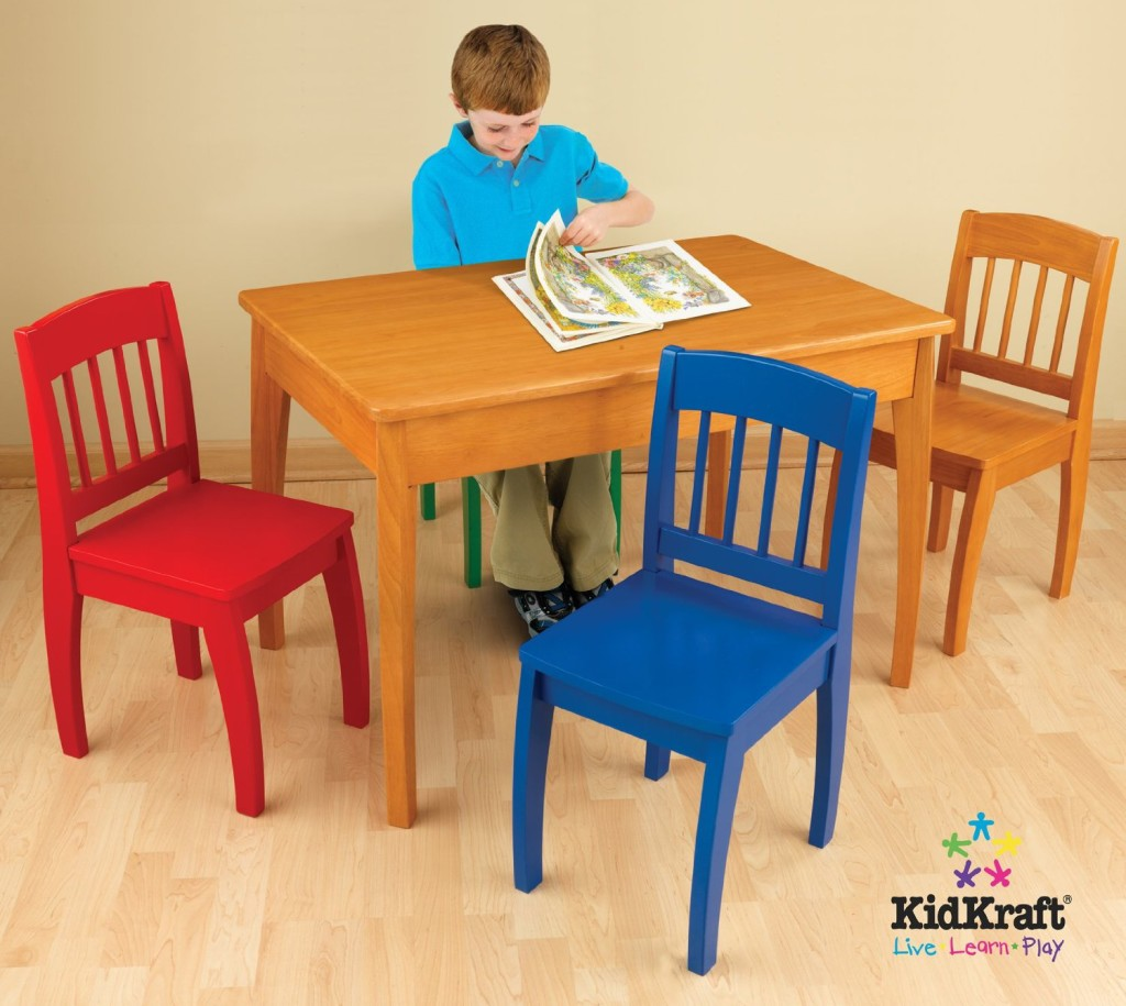 Wooden Table and 4 Chairs for Kids & Top 10 Cutest Children\u0027s Tables and Chair Sets!