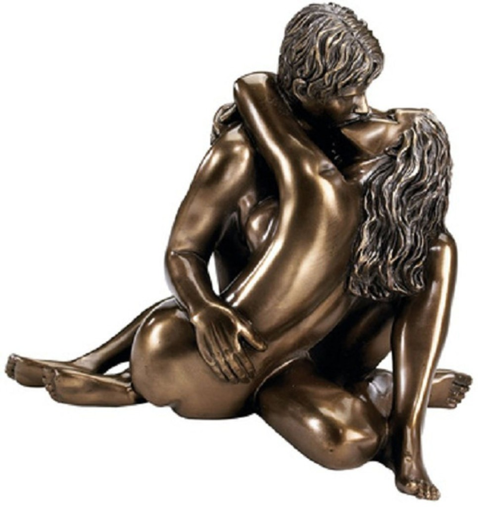 nude couple figurine