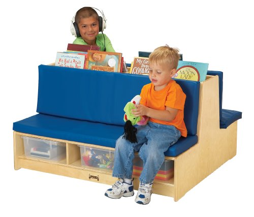 Cute Double Side Blue Couch for Kids