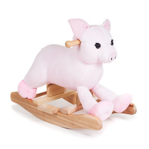 Fun Hamlet Pig Plush Rocker