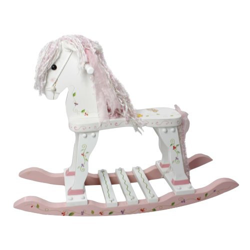 Cute Wood Rocking Horse