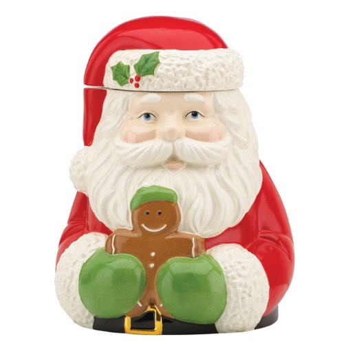 Cute Santa Cookie Jar
