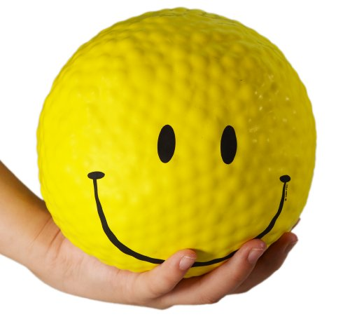 Giant Smiley Gel Sensory Stress Ball