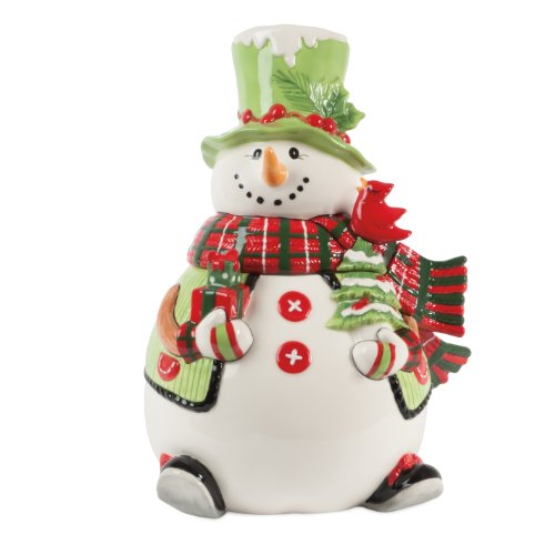 Adorable Snowman Cookie Jar