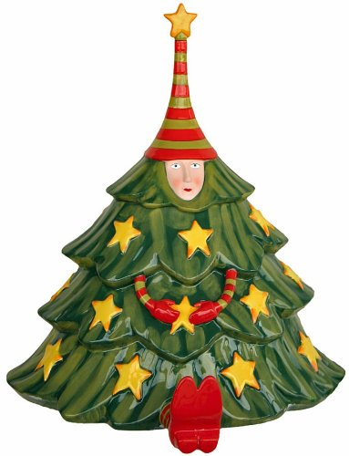 Amazing KRINKLES CHRISTMAS TREE Shaped COOKIE JAR