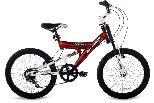 Boy's 20-Inch Mountain Bike, Red, Black and White