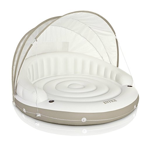 Intex Canopy Island Inflatable Lounge