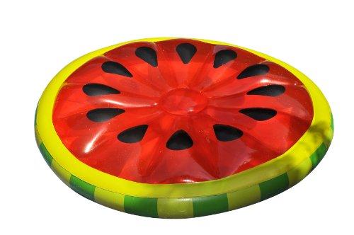 Fun Watermelon Slice Island Inflatable Raft