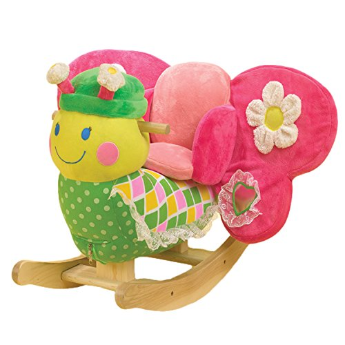Cutest Plush Butterfly Rocker for Little Girls