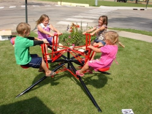Fun Merry Go Round Teeter Totter