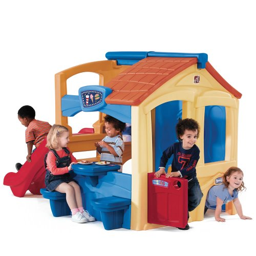 Fun Playhouse with Slide