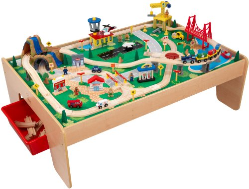 Cool Train Set and Table
