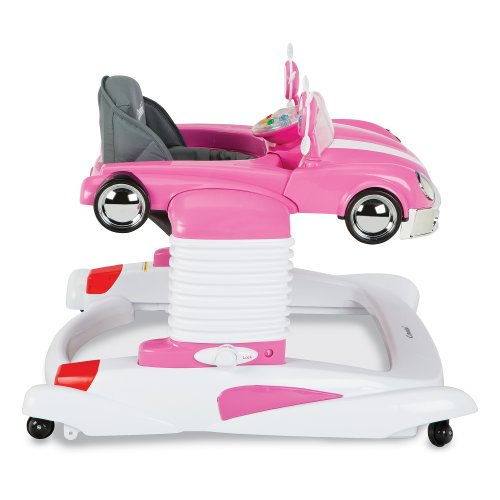 Cute PINK Car Baby Walker for Girls