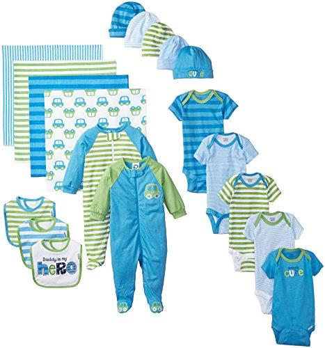 Newborn Baby Boy Essentials Gift Set
