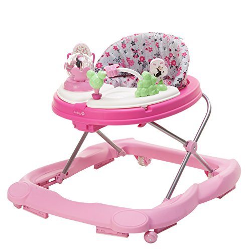 Cute Minnie Mouse Pink Walker for Baby Girls