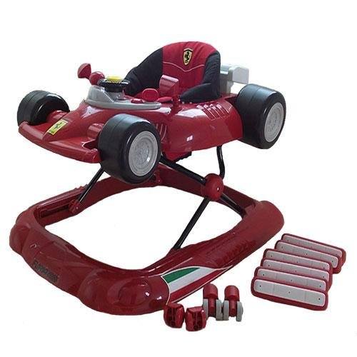Gorgeous Ferrari F1 Baby Walker in Red