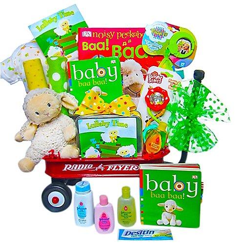 Baby Einstein Lullaby Wagon Gift Basket