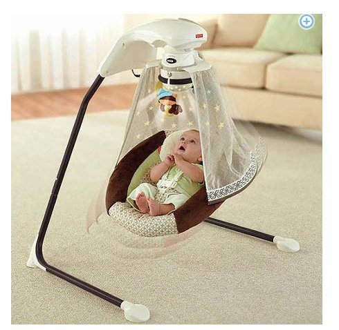 cool baby swing