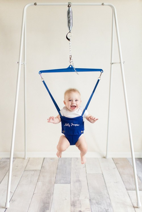 Jolly Jumper On a Stand