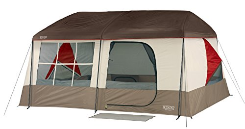 Cute Cabin Style 9 Person Family Tent